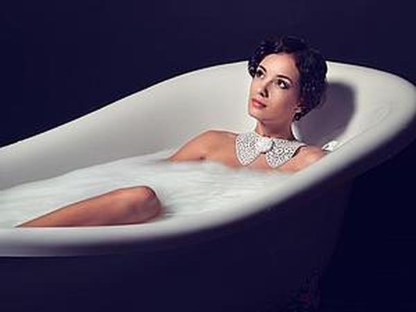 Молочная ванна или как я фотографировала кожаные воротнички   Ярмарка Мастеров - ручная работа, handmade