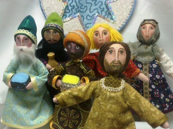 Долгий путь к Рождеству. | Ярмарка Мастеров - ручная работа, handmade