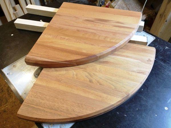 Делаем угловую полку из дерева | Ярмарка Мастеров - ручная работа, handmade