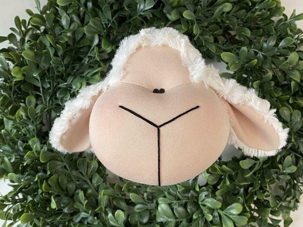 Шьем текстильную овечку. Урок 3 | Ярмарка Мастеров - ручная работа, handmade