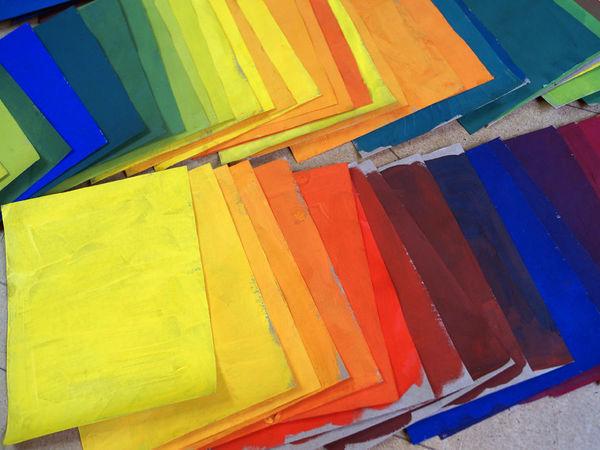 В мире цвета! Отчёт о первом занятии :) | Ярмарка Мастеров - ручная работа, handmade