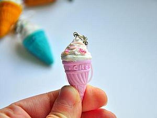 Making a Delicious Ice-Cream Keyring | Livemaster - handmade