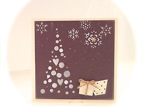 Создание новогодней открытки | Ярмарка Мастеров - ручная работа, handmade