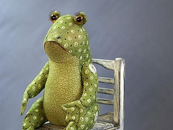 Как сшить Лягушку-Квакушку | Ярмарка Мастеров - ручная работа, handmade