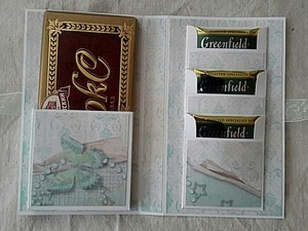 Шоколадница с кармашками для чая   Ярмарка Мастеров - ручная работа, handmade