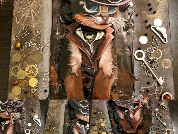 Папертоль  «Кот Маркиз» | Ярмарка Мастеров - ручная работа, handmade