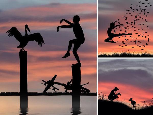 Фотохудожник Dominic Liam и его «Силуэты» | Ярмарка Мастеров - ручная работа, handmade