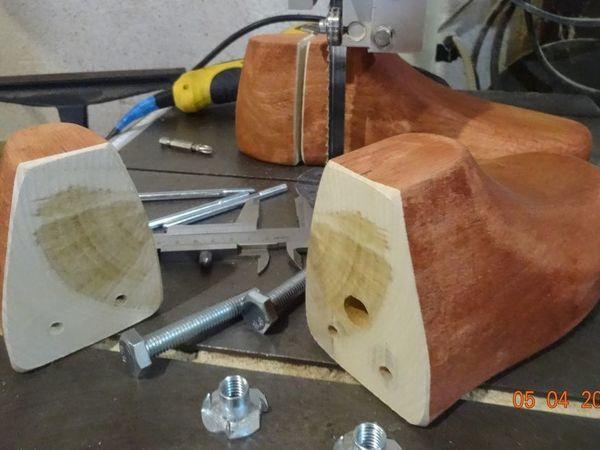 Видеоурок: изготовление раздвижных колодок для валяния обуви | Ярмарка Мастеров - ручная работа, handmade