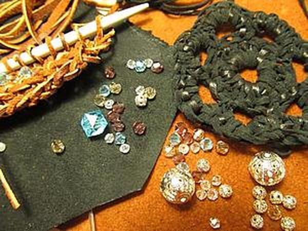 Вязание кожей   Ярмарка Мастеров - ручная работа, handmade