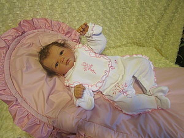 Малышка Ниночка-куклы реборн Инны Богдановой.   Ярмарка Мастеров - ручная работа, handmade