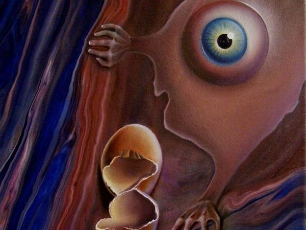 Картина  «Прозрение» | Ярмарка Мастеров - ручная работа, handmade