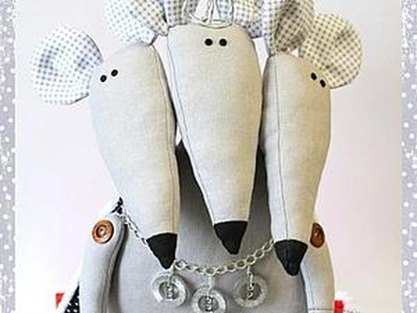 Трехголовый Мышиный король | Ярмарка Мастеров - ручная работа, handmade