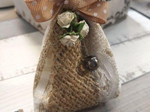 Мастерим ароматный мешочек-саше | Ярмарка Мастеров - ручная работа, handmade