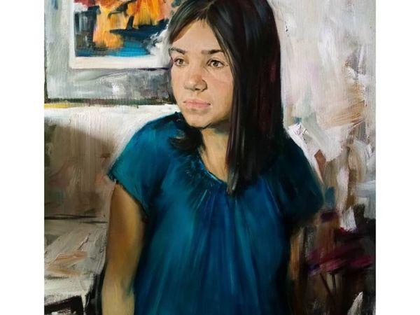 Портрет дочурки | Ярмарка Мастеров - ручная работа, handmade