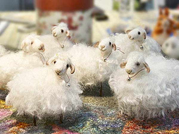 М/к по валянию Овечки -символа 2015 года! | Ярмарка Мастеров - ручная работа, handmade