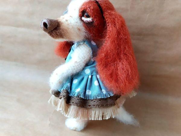 Вяжем собачку Софи | Ярмарка Мастеров - ручная работа, handmade