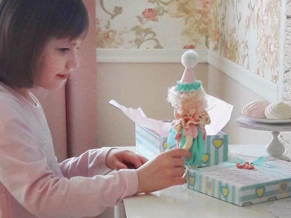 Два варианта упаковки маленькой куклы | Ярмарка Мастеров - ручная работа, handmade