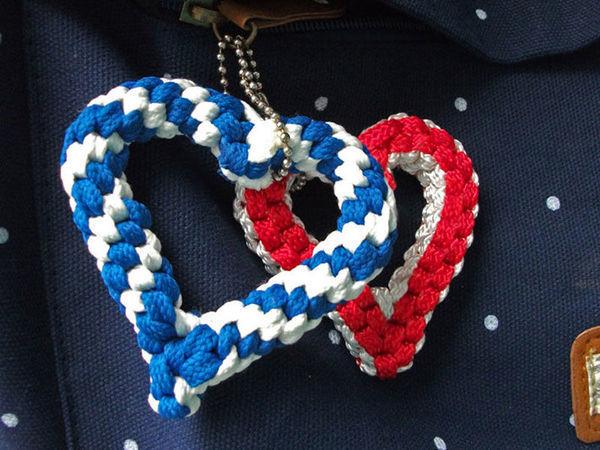 Плетём сердечки из шнурков | Ярмарка Мастеров - ручная работа, handmade