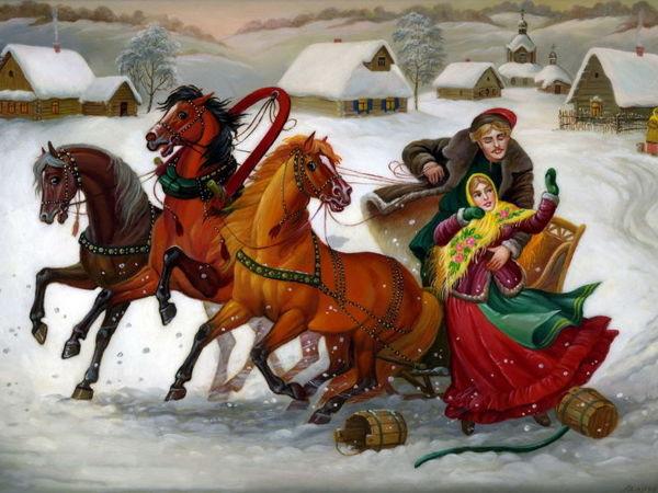 Зимние забавы | Ярмарка Мастеров - ручная работа, handmade