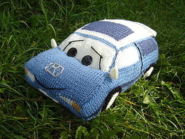 Машина -подушка | Ярмарка Мастеров - ручная работа, handmade
