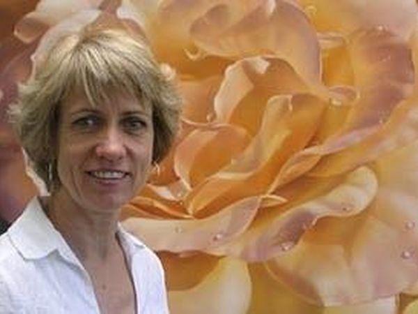 Magical Flowers by Australian Artist Lyn Diefenbach   Livemaster - handmade