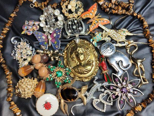 Аукцион винтажных украшений  «Флора и Фауна» . С 13.05 до 15.05   Ярмарка Мастеров - ручная работа, handmade