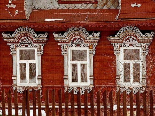 Красота в деталях:  «Очи»  русской избы | Ярмарка Мастеров - ручная работа, handmade