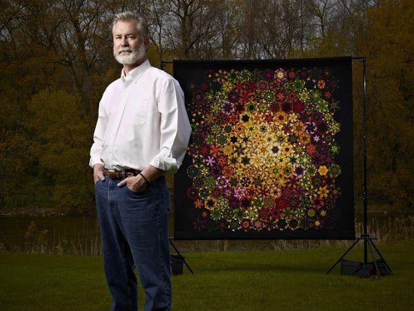 Чудеса из одного блока: текстильные калейдоскопы Bruce Seeds | Ярмарка Мастеров - ручная работа, handmade