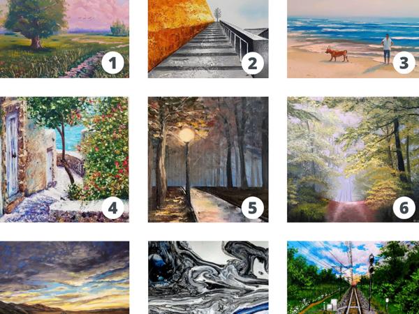 Выберите дорогу, по которой вы бы пошли: тест по картинке   Ярмарка Мастеров - ручная работа, handmade