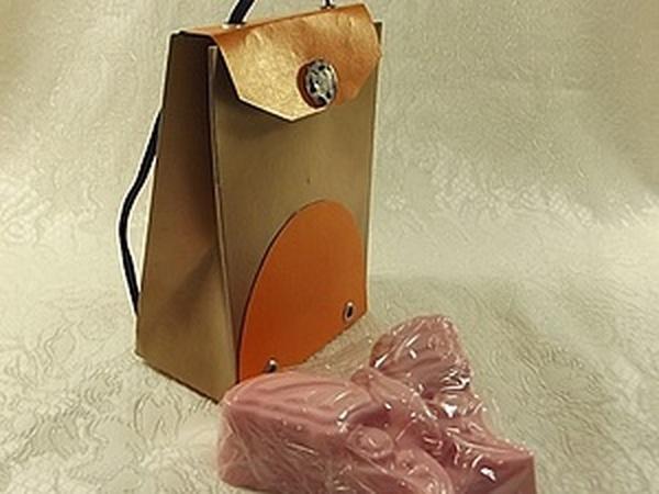 Подарочная коробочка в виде рюкзака | Ярмарка Мастеров - ручная работа, handmade