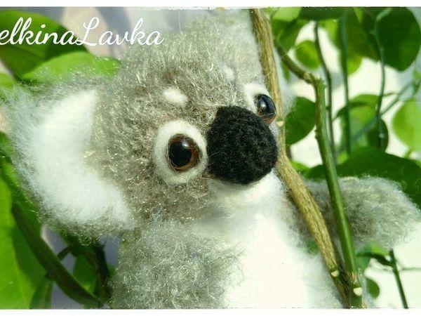 Мастер-класс по созданию вязаного коалы   Ярмарка Мастеров - ручная работа, handmade