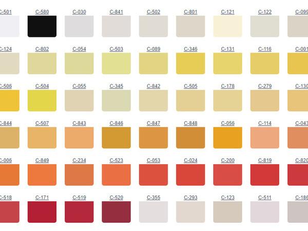 Единая цветовая карта | Ярмарка Мастеров - ручная работа, handmade