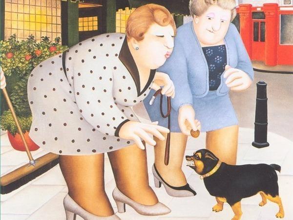 Ироничные работы английской художницы Beryl Cook | Ярмарка Мастеров - ручная работа, handmade