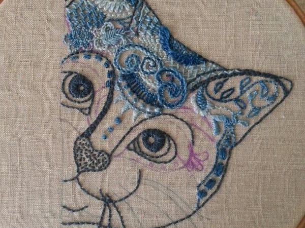 «Кошачья» тема в декоре, одежде и украшениях   Ярмарка Мастеров - ручная работа, handmade