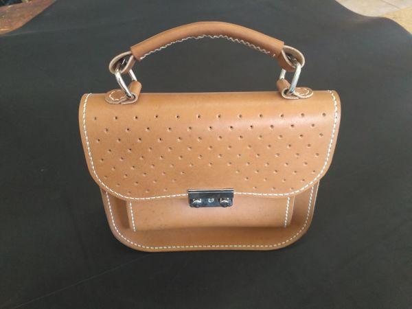 Делаем небольшую женскую сумочку из кожи | Ярмарка Мастеров - ручная работа, handmade