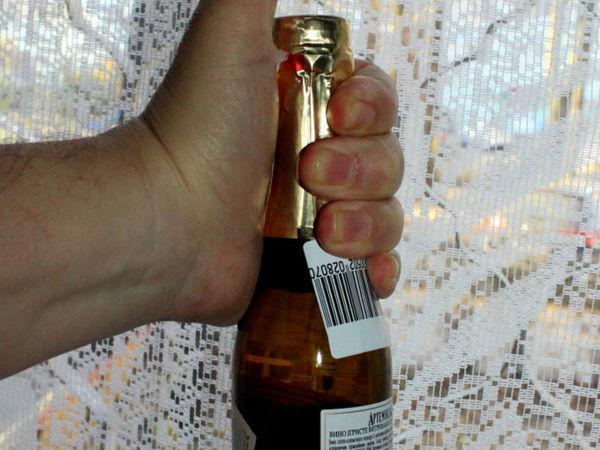 Шампанское мини для Нового года | Ярмарка Мастеров - ручная работа, handmade