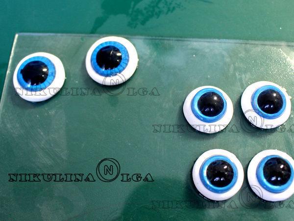 Создаем глаза из полимерной глины | Ярмарка Мастеров - ручная работа, handmade
