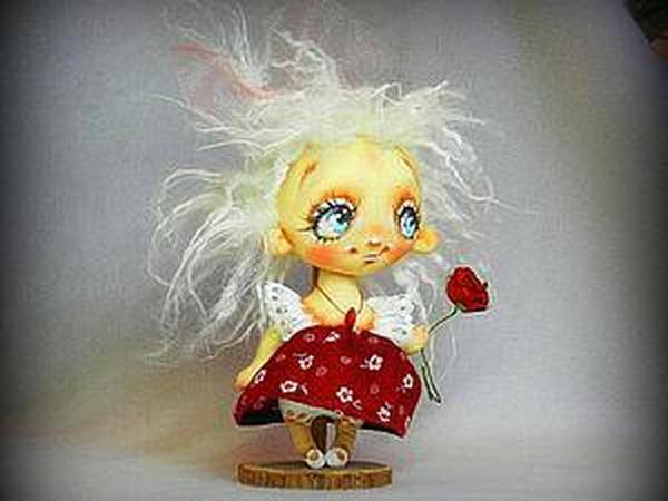 Аукциончик! Девочка с розочкой) | Ярмарка Мастеров - ручная работа, handmade