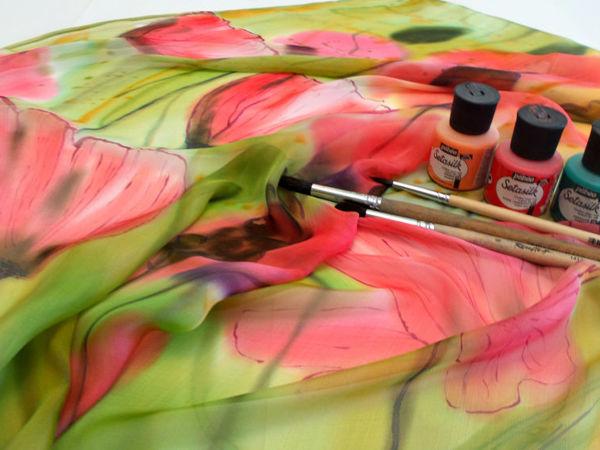 Батик: как выбрать красители для росписи | Ярмарка Мастеров - ручная работа, handmade