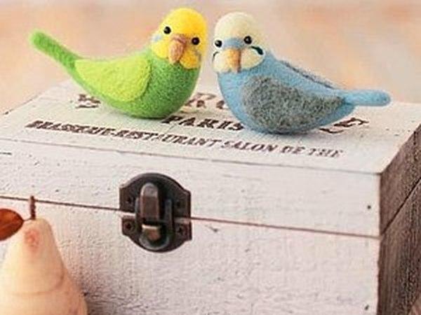 Живые игрушки, птички | Ярмарка Мастеров - ручная работа, handmade