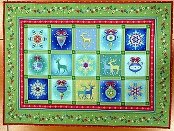 Шьем новогодний коврик | Ярмарка Мастеров - ручная работа, handmade