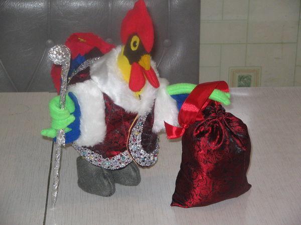 Как сшить новогоднего петушка   Ярмарка Мастеров - ручная работа, handmade