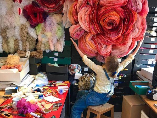 Потрясающие бумажные цветы датской художницы Marianne Eriksen-Scott Hansen | Ярмарка Мастеров - ручная работа, handmade