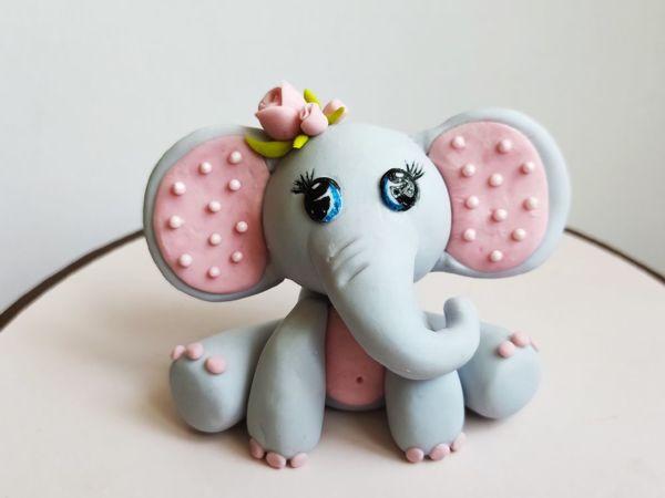 Пошаговый мастер-класс: «Лепка слонёнка из сахарной пасты»   Ярмарка Мастеров - ручная работа, handmade