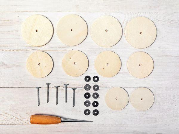 О дисках, шплинтах и шайбах, или Что такое тедди-технология? | Ярмарка Мастеров - ручная работа, handmade