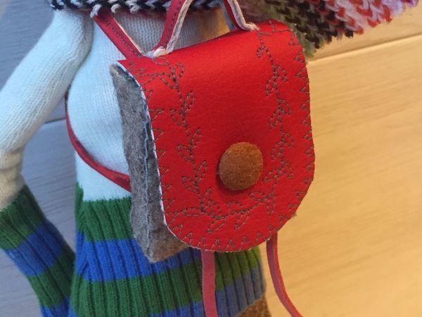 Шьем рюкзачок для куклы или игрушки   Ярмарка Мастеров - ручная работа, handmade