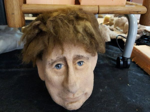 Красим кукольные волосы «человеческой» краской | Ярмарка Мастеров - ручная работа, handmade