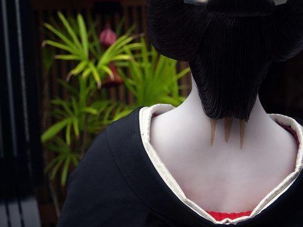 Памятка по истории японского костюма: гейши и компания | Ярмарка Мастеров - ручная работа, handmade