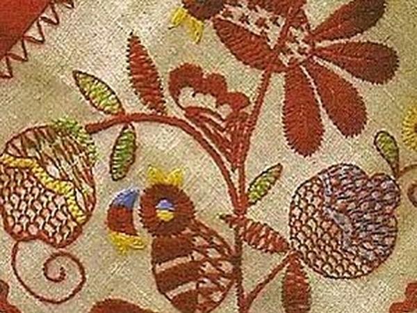 От Владимирской вышивки к фантазийному шву | Ярмарка Мастеров - ручная работа, handmade