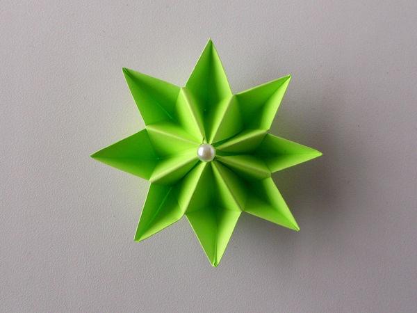 Собираем с детьми цветок из бумаги | Ярмарка Мастеров - ручная работа, handmade